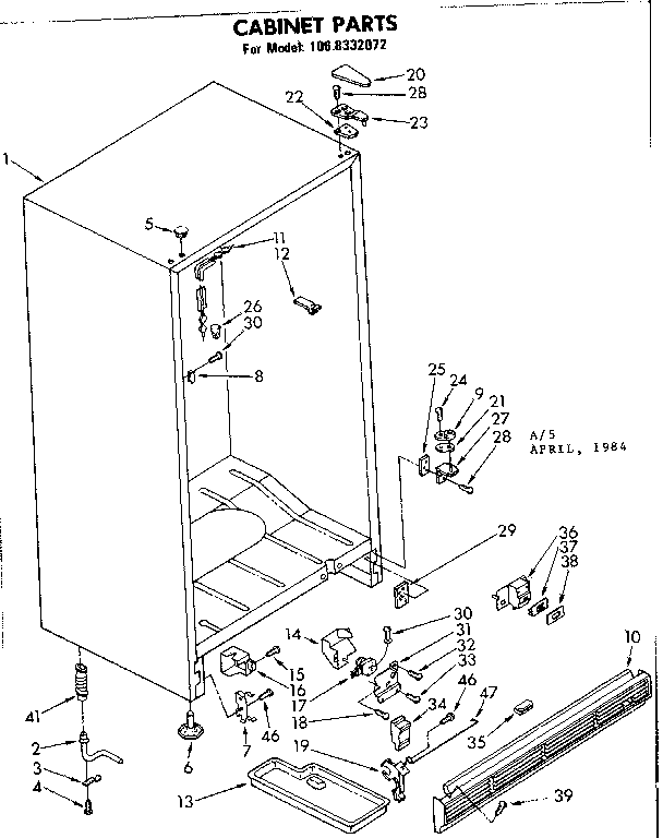 33 Kenmore Freezer Parts Diagram