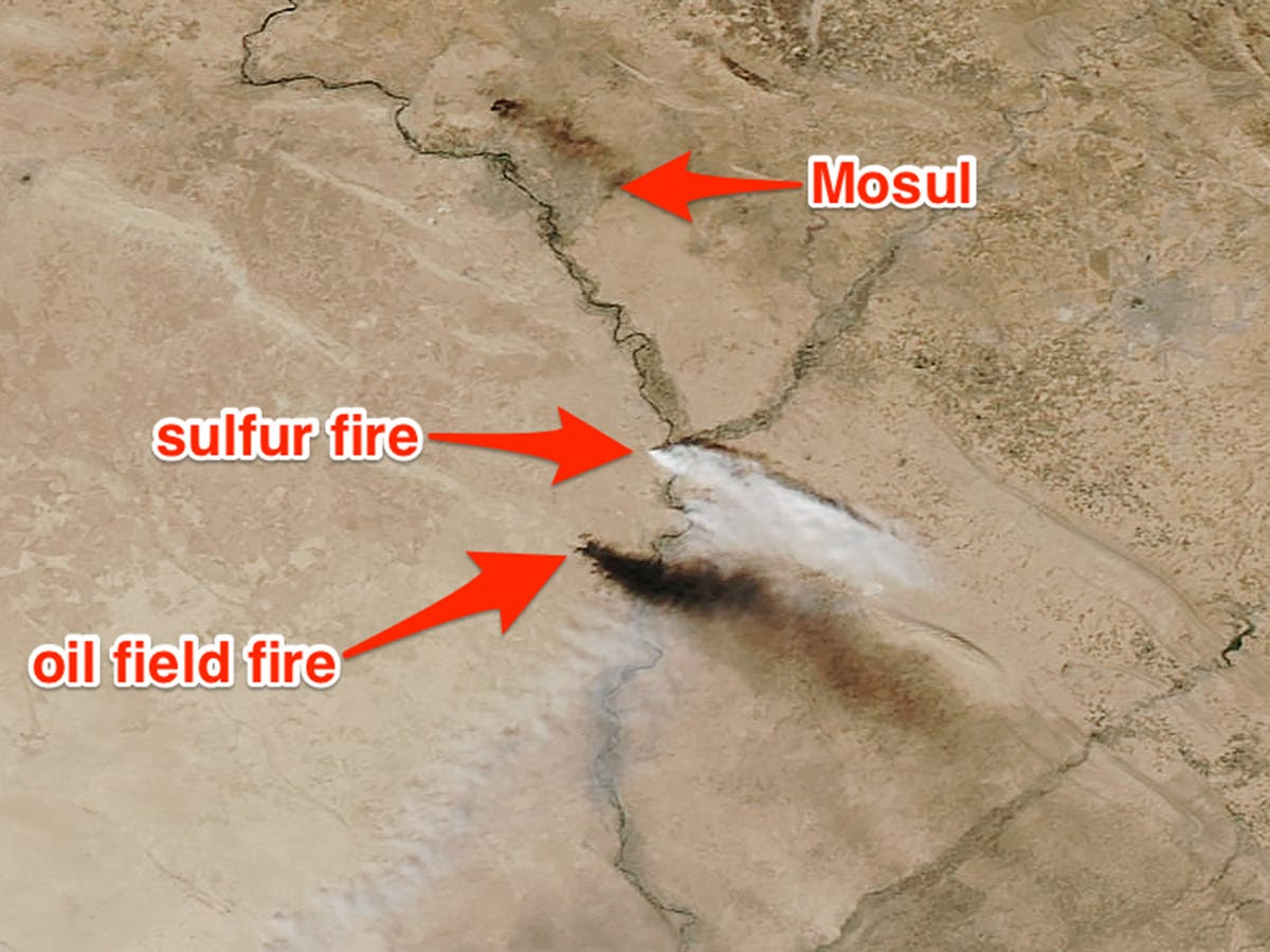mosul-sulfur-fire-smoke-plume-nasa-satel