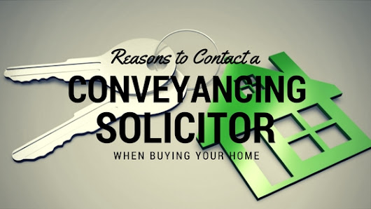 Conveyancing solicitor - essential when buying a house