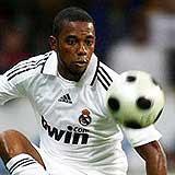 Robinho: United player