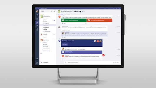 Microsoft Teams launches March 14 to take on Slack