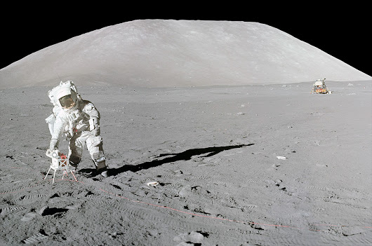 Apollo 17 astronaut begins releasing diary 45 years after moon mission | collectSPACE