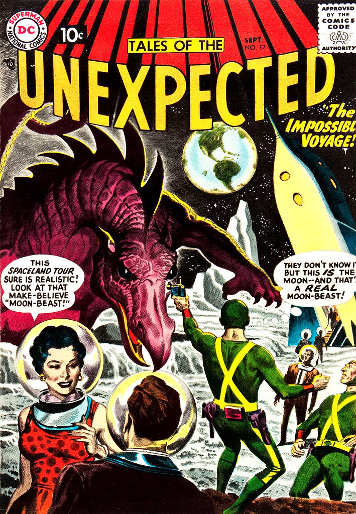 Tales of the Unexpected #17 (DC, 1957) Ruben Moreira cover