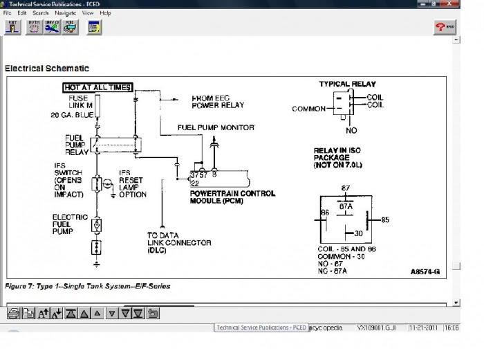 1999 Ford F 150 Fuel Pump Wiring Diagram