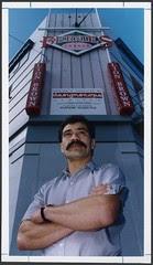 Flickr: Former all Black Bernie Fraser, Wellington, 1993