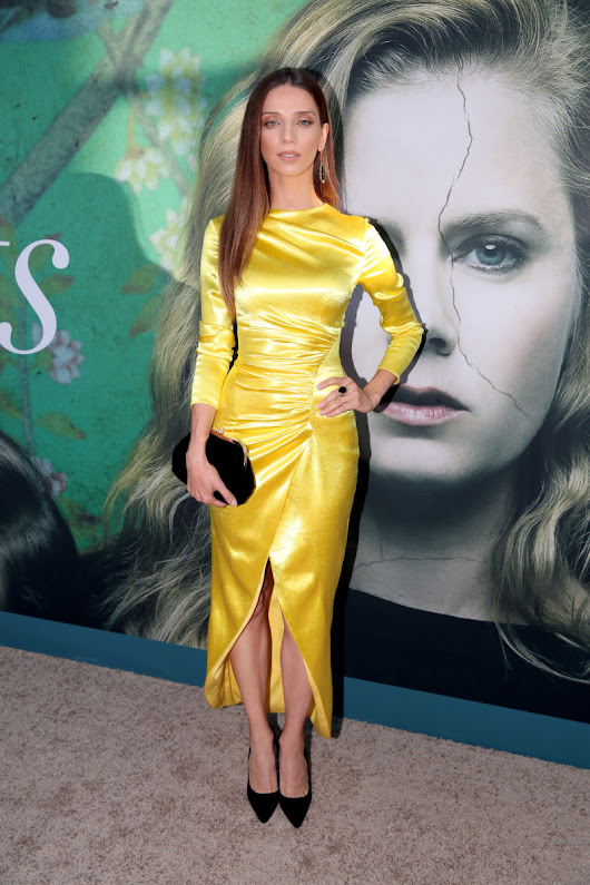 Yellow Wasn't a Sexy Color Until It Met Angela Sarafyan