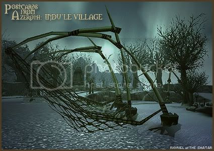 Postcards of Azeroth: Indu'le Village, by Rioriel Ail'thera