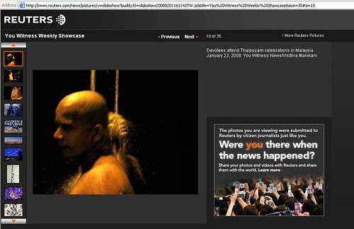 In Jan 2008 - Reuters