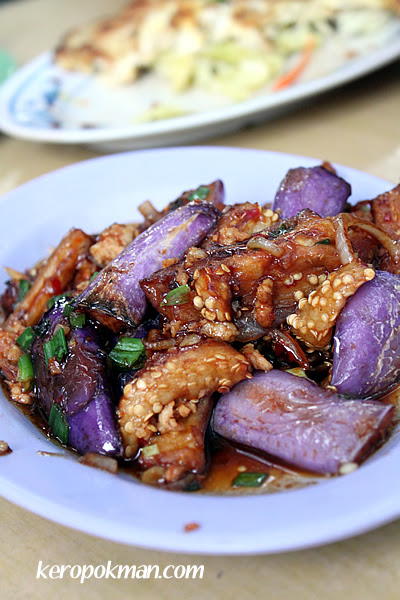 Brinjal with Mince Pork