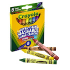 Washable Crayons Large 8ct Peggable Box