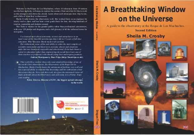 """The cover of the second editio of """"A Breathtaking Window on the Universe"""""""