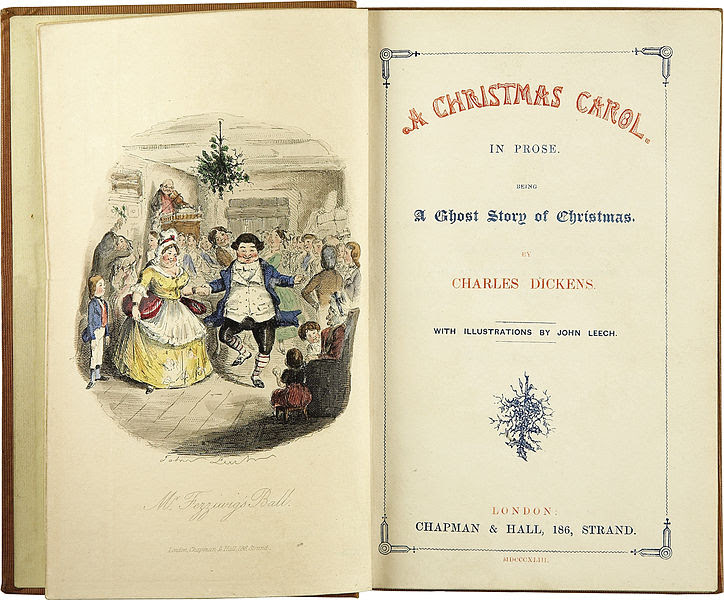 Ficheiro:Charles Dickens-A Christmas Carol-Title page-First edition 1843.jpg