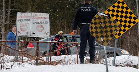 Refugees Fleeing into Canada from the United States
