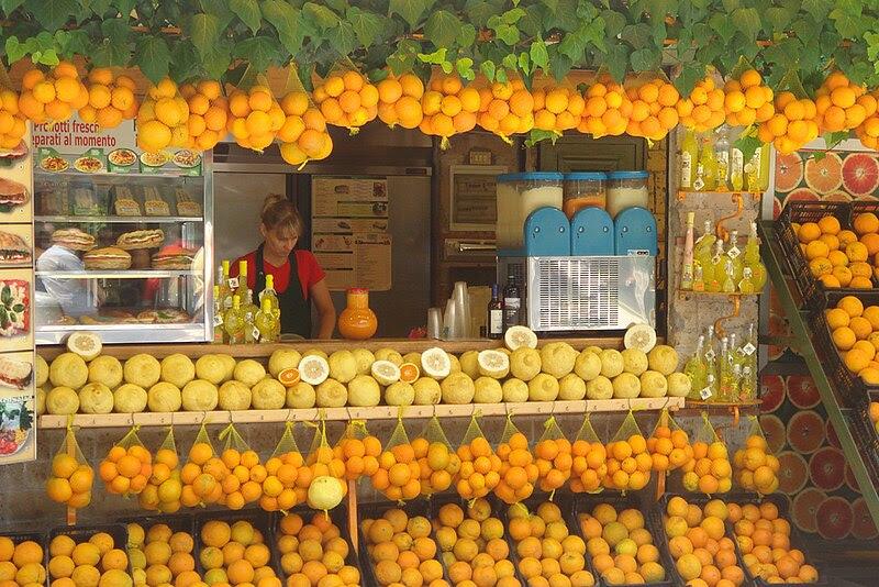 File:Lemon stand; Pompeii.jpg