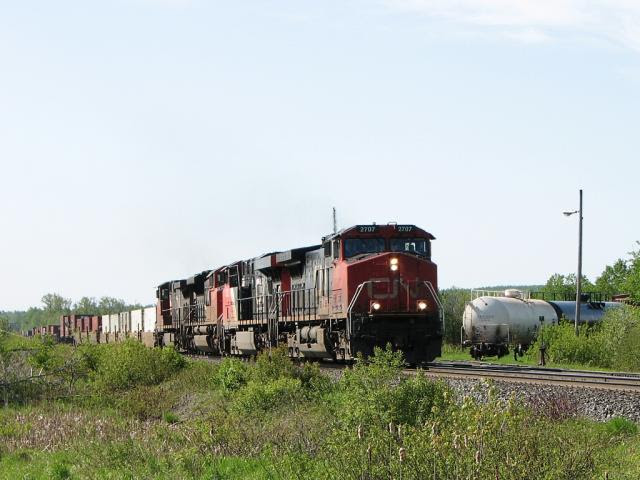 IC 2707 in St. Leonard, NB