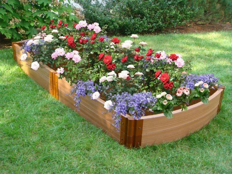 Garden Bed Ideas on Frontyard and Backyard - HomesCorner.Com