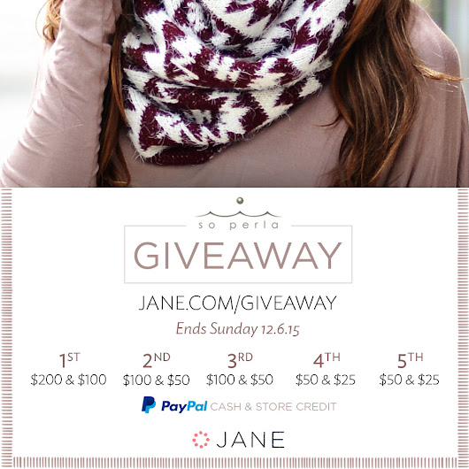 Weekly Boutique Giveaways - Jane.com
