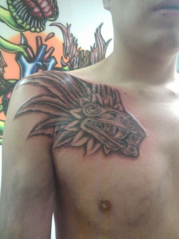 Pictures Of Aztec Serpent Tattoo Rock Cafe