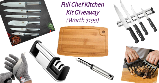 The Full Chef's Kitchen Kit Giveaway! (Worth $199) Check it out