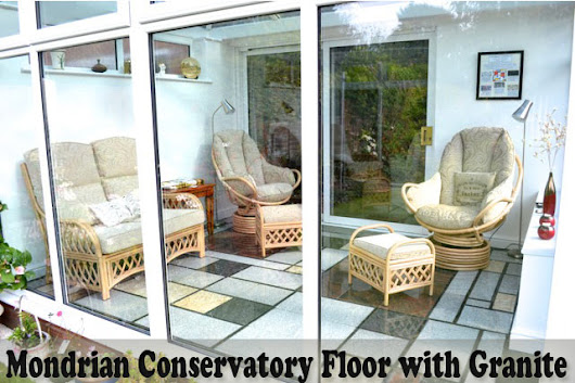 Mondrian Conservatory Floor with Granite | Tilesporcelain