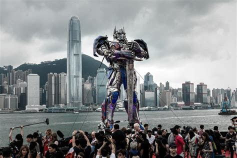 transformers audience action   china wsj