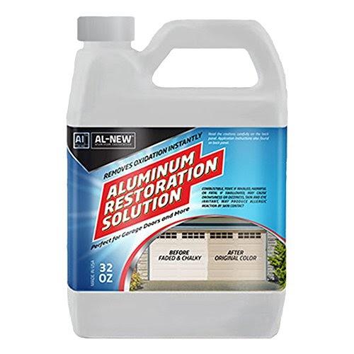 Aluminum Restoration Solution By Al New Clean Restore