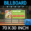Restaurant Billboard Template Vol.11