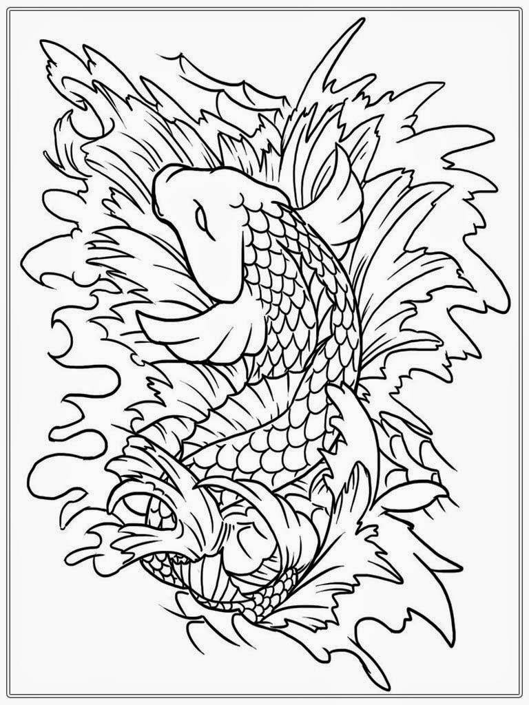 45 Top Free Printable Japanese Coloring Pages For Adults  Images