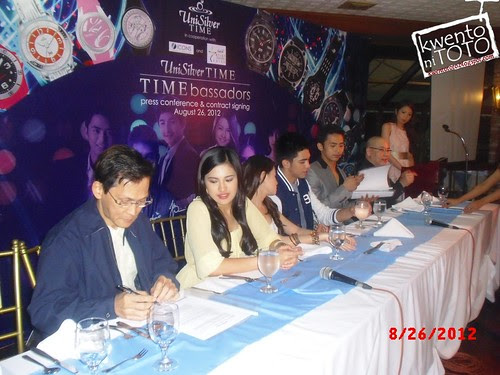 UniSilver Time Launching and Contract Signing 6