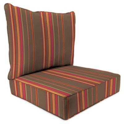 Buy 24 x 24 Deep Seat Outdoor Cushions from Bed Bath & Beyond