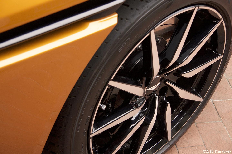 Aston Martin On Ocean Aston Martin Db11 Wheel Girlsdrivefasttoo