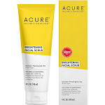 Acure Brilliantly Brightening Facial Scrub - 4 fl oz tube