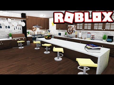 MODERN KITCHEN RE-DESIGN!!! Bloxburg Adventures! (Roblox ...