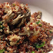 Good Things in Small Packages: Mushroom Quinoa
