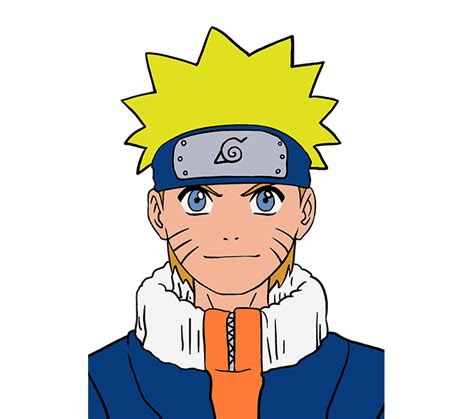 draw naruto    easy steps easy drawing guides