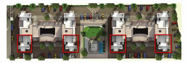 Position of 2.5 BHK Flats in A, B, C, D Buildings of Reelicon Alpine Ridge Pancard Club Baner Pune