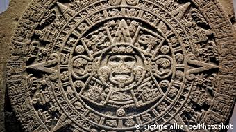 Mexiko Aztec Calendar Stone entdeckt (picture alliance/Photoshot)