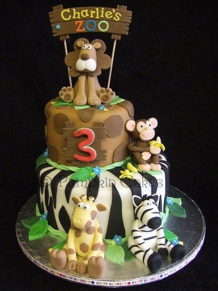 Zoo Cake  Cake by PumpkinCakes