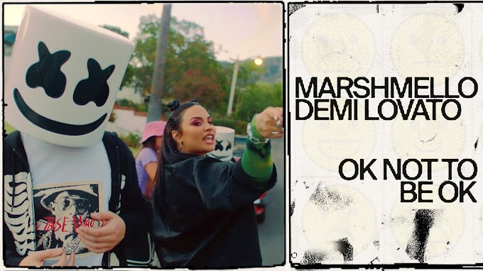 When you're high on emotion and you're losing (It's okay not to be okay) Song Lyrics - Marshmello, Demi Lovato