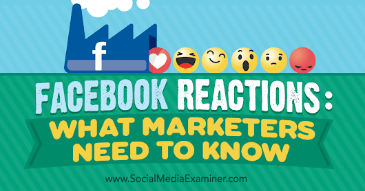 Facebook Reactions: What Marketers Need to Know : Social Media Examiner