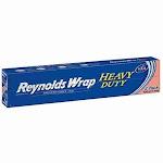 "Reynolds Wrap 18"" Heavy Duty Aluminum Foil, 150 sq. ft(2 ct)"