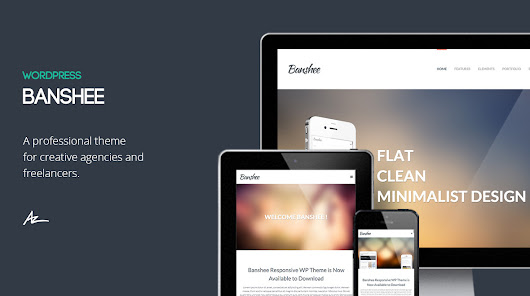 Banshee: Portfolio Wordpress Theme