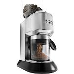 DeLonghi - Dedica 14-Cup Coffee Grinder - Stainless steel