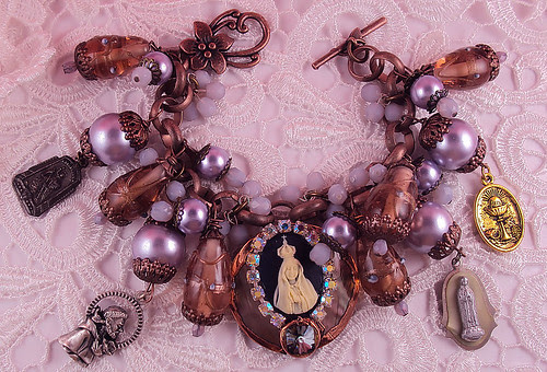 Our Lady of Fatima Bracelet by inspirational