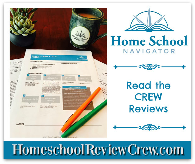 Home School Navigator Reading and Language Arts Curriculum {Home School Navigator Reviews}