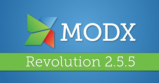 MODX Revolution 2.5.5—Unzip Fixes, Better URL Logging and More