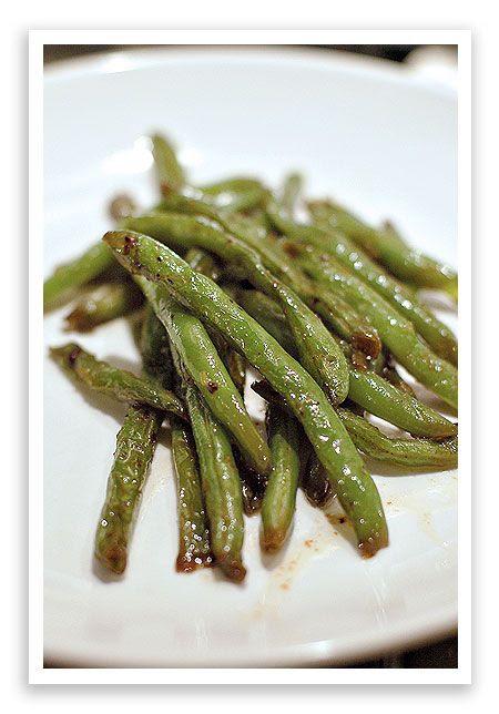 Sesame Sautéed Green Beans