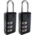 Master Lock 646T .75 in. Resettable Combination Padlock, Pack of 2
