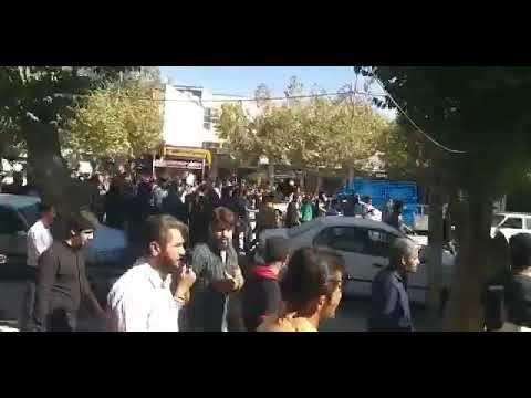 ايران انترناسيونال: امروز ما فردا شما شعار تظاهرات کنندگان ... سايت امروز
