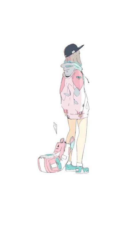 chillhoplofi art   anime art illustration art